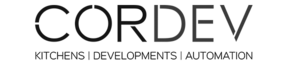 CORDEV (kitchens and real estate) logo